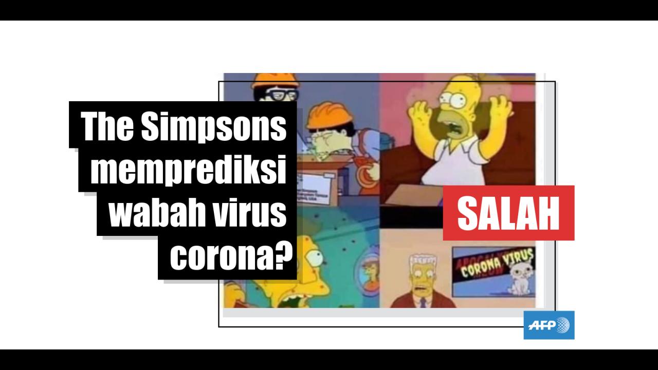 Sebuah Gambar Dari Serial Kartun The Simpsons Telah